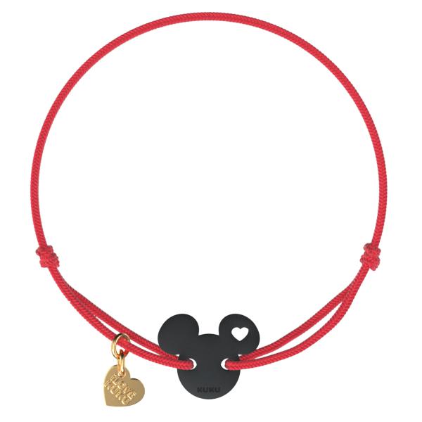 NARUKU - MICKEY LOVE - Red-Black