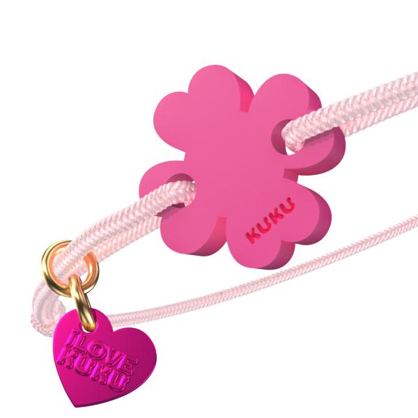 NARUKU - FOUR LEAF - Babypink-Pink