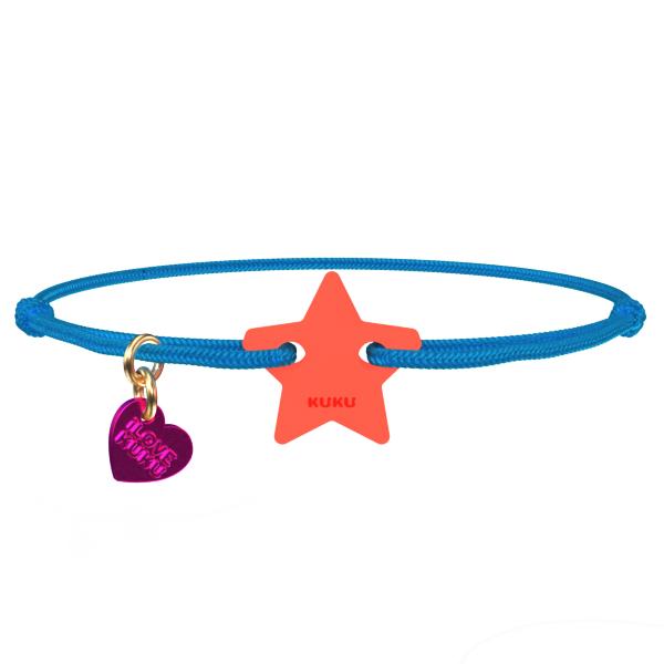 NARUKU - STAR - Blue-Coral